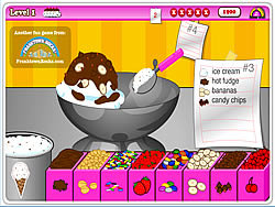 Tiny Tina's Ice Cream Sundae Rush game