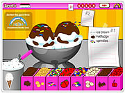 Play Tiny tinas ice cream sundae rush Game
