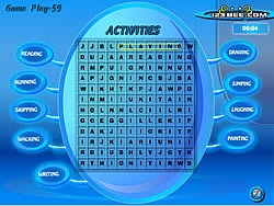 Juega al juego gratis Word Search Gameplay - 59