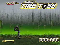 Tire Toss game