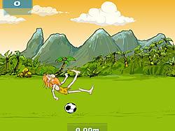 Prehistoric Football game