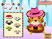Play Baby tiger dressup Game