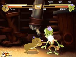 play zombie vs hamster game online y8com