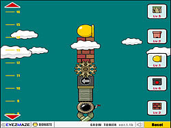 Grow Tower game