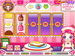 Sue Sandwich Maker game