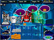 Electronic Vittles game