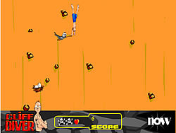 Cliff Diver game