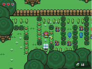 Play Zelda links backyard Game