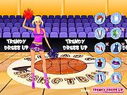 Play Trendy dressup cheerleader Game