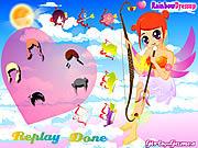 Cupid girl dress up Spiele