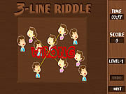 Play 3 line riddle Game