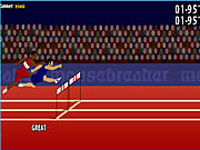 Play 110m hurdles game Game