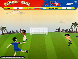 Gioca gratuitamente a Little Zizou Sock-Err