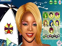 Gioca gratuitamente a Rihanna Makeover