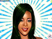 Play Rihanna makeover Game
