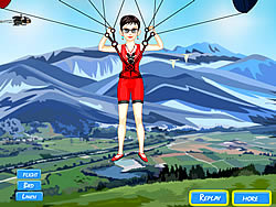 Sky Diver Dress Up game