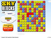 Play Sky blocks Game