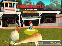 Permainan Chicken Little - Batting Practice