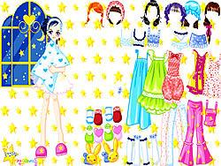 Pajama Party Dress Up game