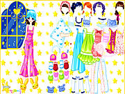 Play Pajama party dress up Game