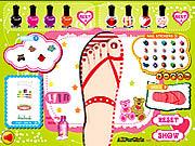 juego Sweet Feet Nail Polish