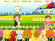 Play Flower shop Game