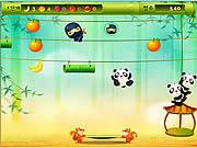 Panda jump Gioco