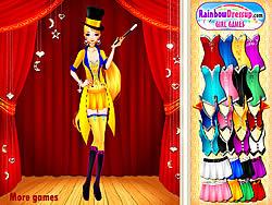 Magic Lady game