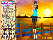 Play Sunset chic dressup Game