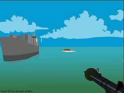 Jogar jogo grátis Foxy Sniper - Pirate Shootout