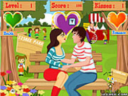 Blocking & Kissing game