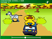 Play The lion at the car Game