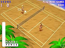 Gioca gratuitamente a Beach Tennis