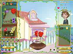 Flower Design Shop game