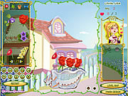 Play Flower design shop Game