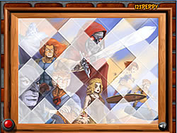 Sort My Tiles Thundercats game