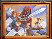 Sort My Tiles Thundercats game