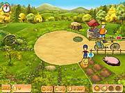 لعبة مزرعة سعيدة