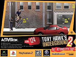 Spielen Sie das Gratis-Spiel  Tony Hawk's Underground 2