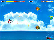 Play Rocket fighter the lost land of drain Game