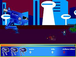 Gioca gratuitamente a Blue Midget Walker