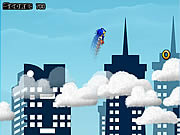 Sonic on clouds Gioco