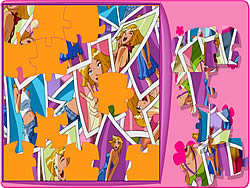 Totally Spies Puzzle 2 game