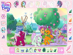 My Little Pony - Friendship Ball game