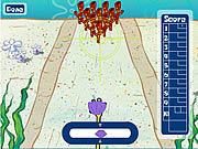 Spongebob squarepants in bikini bottom bowling