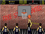 Basketball shooting game Spiele