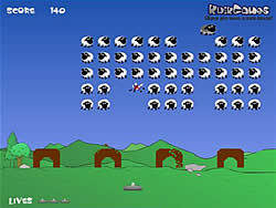 Sheep Invaders game