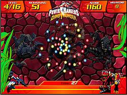 Power Rangers Dino Thunder - Dino Gems game