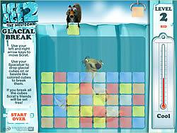 Jogar jogo grátis Ice Age 2 - Glacial Break