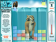 Play Ice age 2 glacial break Game